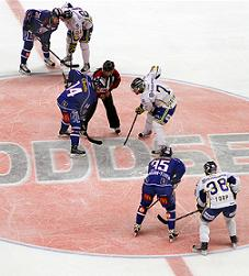 faceoff in hockey