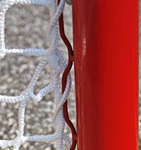 EZ goal hockey goal post