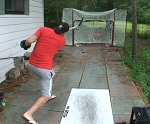 Improve slapshot accuracy
