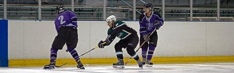 pinch in hockey