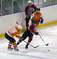hockey pinching