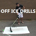 off ice stickhandling drills