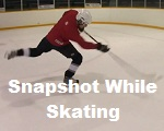 How to take a snapshot while skating