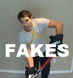 fakes in hockey