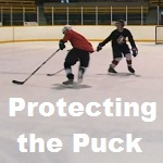 Protecting the puck