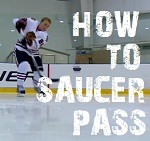 how to saucer pass