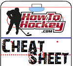 cheat sheet for hockey players
