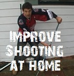 improve shooting at home