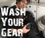 wash your hockey equipment