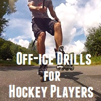 rollerblading drills for hockey players