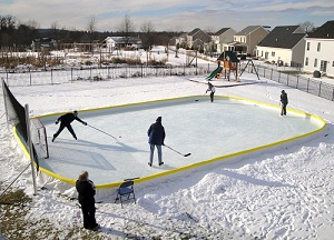 Rink Boards Backyard Ice Rinks. Build A Home Ice. Find Great Deals On Ebay  For Hockey Rink Boards Hockey Net. Shop With Confidence.