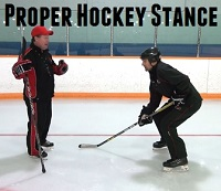 Post image for Proper Hockey Stance: The Importance of Knee Bend