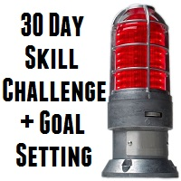 hockey skill challenge and goal setting