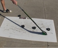pro sized shooting pad