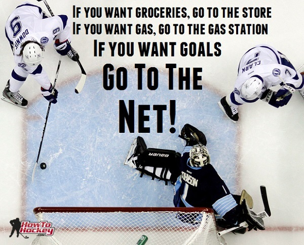 go to net hockey