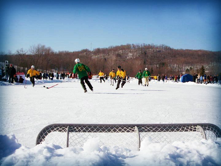 pond hockey tournament Ontario